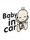 """belle """"bebe dans la voiture"""" belle baton de voiture de bebe."""