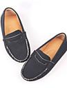 Svart / Blå / Röd / Vit / Svart och vit-Platt klack-Pojkar-Komfort-Konstläder-Fritid-Loafers & Slip-Ons