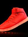 Femme-Sport-Rouge Argent Or-Talon Plat-Confort Light Up Chaussures-Chaussures d\'Athletisme-Polyurethane