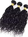 1 st. Vattenvågor Human Hair vävar Brasilianskt hår 100g 8-30inch Människohår förlängningar