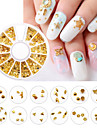 1 Nail Art Decoration Strass Pearls makeup Kosmetisk Nail Art Design