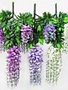 Une succursale Polyester Plastique Plantes Fleur de Table Fleurs artificielles 100 x 50 x 10(40\'\' x 13.8\'\' x 4\'\')