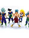 Figures Anime Action Inspire par Dragon Ball Goku Anime Accessoires de Cosplay figure Jaune PVC