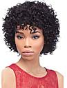 naturelles profondes perruques pas cher courts noirs boucles humains capless de cheveux pour les femmes noires afro perruques de cheveux