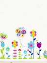 Wall Stickers Väggdekaler, fjäril grön hälsa pvc väggdekorationer