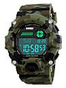 SKMEI Bărbați Ceas Sport Ceas Militar Ceas de Mână LED Calendar Cronograf Rezistent la Apă alarmă Cronometru IluminatPiloane de Menținut
