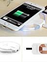 chargeur de puissance sans fil pad qi charge pour samsung galaxy s6 / edge / nexus 4 g3 g4 + recepteur kit pour iPhone 5 / 5s / 6 / 6plus
