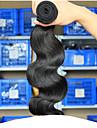 Tissages de cheveux humains Cheveux Indiens Ondulation naturelle 6 Mois 3 Pieces tissages de cheveux