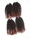 Pre-boucle Tresses crochet Extensions de cheveux 9Inch Kanekalon 1 Package For Full Head Brin 170g gramme Braids Hair