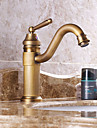 Contemporain Decoration artistique/Retro Moderne Diffusion large Cascade large spary Douche with  Valve en ceramique Mitigeur deux trous
