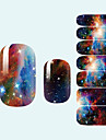 Abstrakt/Vackert/Bröllop - Finger - 3D Nagelstickers 1 - styck 10*7*0.1 - cm