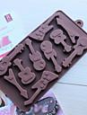 bakformen För Tårtor för choklad För Kakor Silikon Hög kvalitet Miljövänlig Födelsedag