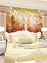 Decoration artistique / 3D Fond d\'ecran pour la maison Retro Revetement , Toile Materiel adhesif requis Mural , Chambre Wallcovering