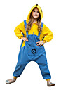kigurumi Pyjamas Collant/Combinaison Fete / Celebration Pyjamas Animale Halloween Couleur Pleine Polaire Pour EnfantHalloween Noel