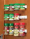 Organisateur de Clip n magasin cuisine bouteille d\'epices rack clips porte d\'epices 20 clip ensemble