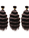 Tissages de cheveux humains Cheveux Indiens Ondulation profonde 12 mois 1 Piece tissages de cheveux