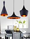 60 Lampe suspendue ,  Traditionnel/Classique Peintures Fonctionnalite for Style mini Metal Chambre a coucher Salle a manger