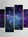 canvas Set Landskap fantasi Klassisk Europeisk Stil,Fyra paneler Kanvas Alla Form Print Art väggdekor For Hem-dekoration