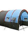 5-8 personnes Tente Unique Tentes Familiales Deux pieces Tente de camping 1000-1500 mm Fibre de verre Polyurethane Oxford AutreEtanche