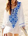 Femei Șal Femei Solid Polyester