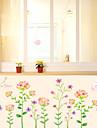 Romantic Modă Florale Perete Postituri Autocolante perete plane Autocolante de Perete Decorative,Hârtie Material Pagina de decorarede