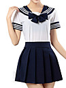 Ispirato da Sailor Moon Cosplay Anime Costumi Cosplay Abiti Cosplay Maniche corte Maglietta Gonna Per
