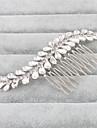 Femei Cristal Diadema-Nuntă Ocazie specială Piepteni de Păr 1 Bucată