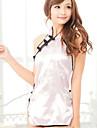 Feminin Ultra Sexy / Uniforme & Cheongsams / Costume Pijamale Mătase de Gheață Peteci Roz