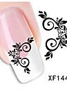 1pcs Autocollant d\'art de clou Autocollants 3D pour ongles Maquillage cosmetique Nail Art Design
