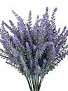 1 Une succursale Polyester Fleur de Table Fleurs artificielles 10