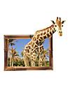 Animaux Mode 3D Stickers muraux Autocollants avion Autocollants muraux 3D Autocollants muraux decoratifs,Vinyle MaterielDecoration