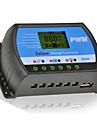 30a 12v / 24v solpanel laddare controller batteri regulator usb lcd PWM