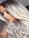 synthetique ombre perruque grise longs ondules perruque afro-americaine pour les femmes noires chaleur cheveux resistants perruque cosplay