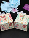 50pcs/lots Love Birds Baby Shower Candy Box Wedding Favors Box Gift Box For Party Supplies