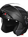 gxt 158 ​​casque de moto a double lentille anti-buee respirant casque integral
