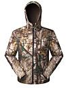 Unisexe Hauts/Tops Chasse Pare-vent Confortable Printemps Automne Hiver Couleur camouflage