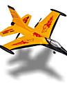 Glidare RC Radiostyrt flygplan Gul Viss montering behövs Fjärrkontroll Blad USB-kabel Användarmanual Flygplan