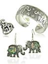 bijuterii 1 pereche de cercei inele brățări&Bangles petrecere de nunta ocazii speciale de Halloween din aliaj de zi cu zi 1set