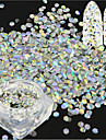 1 bottle Nail Art-dekoration Strasspärlor makeup Kosmetisk Nail Art-design