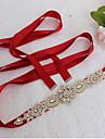 Satin Nunta Party/Seara Zilnice Cercevea-Margele Ștrasuri Imitație de Perle 98 ½in(250cm) Margele Ștrasuri Imitație de Perle