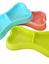Chat Chien Bols & Bouteilles d\'eau Mangeoires Animaux de Compagnie Bols & alimentation Portable Jaune Rouge Bleu