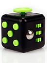 ångest reliever fidget tärningar kubisk kub fidget leksaker för fokusering / avspänningsglödgning abs --black&grön