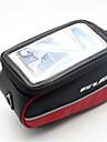 Sac de VeloSac de cadre de velo Sac de telephone portable Ecran tactile Sac de Cyclisme Polyester 600D PVC Sacoche de Velo Cyclisme/Velo