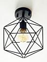 Montage du flux ,  Traditionnel/Classique Retro Lanterne Rustique Globe Peintures Fonctionnalite for Style mini MetalBureau/Bureau de