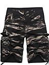 Bărbați Larg Drept Talie Medie,Inelastic Pantaloni Chinos Pantaloni Sport Pantaloni Solid Maskirni
