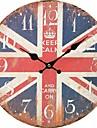 Traditionnel Rustique Antique Decontracte Retro Bureau / Affaires Personnages Vacances Niches Inspire Famille Religieux Horloge murale,