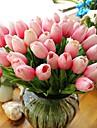 10 10 Une succursale Contact reel Tulipes Fleur de Table Fleurs artificielles