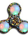 Spinner antistres mână Spinner Jucarii Ring Spinner LED-ul Spinner ABS EDCAmeliorează ADD, ADHD, anxietate, autism Stres și anxietate