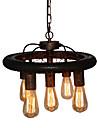Lampe suspendue ,  Traditionnel/Classique Retro Retro Rustique Peintures Fonctionnalite for LED Designers MetalSalle de sejour Chambre a