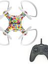 Drone RC 4 Canaux 6 Axes 2.4G - Quadri rotor RCEclairage LED Retour Automatique Mode Sans Tete Vol Rotatif De 360 Degres Station au Sol